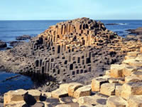 Giants Causeway on walking holiday with Let's Go Walking