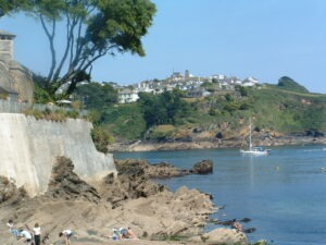 south west coast path fowey with letsgowalking