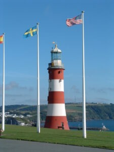 Plymouth Hoe with Lets Go Walking walking holidays