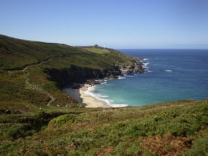 Lands end area with Letsgowalking holidays