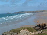 perranporth south west coast path walking holidays with letsgowalking