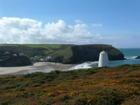 portreath walking holidays with Letsgowalking