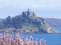 St Michaels Mount on SWCP walking holiday with Let's Go Walking