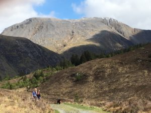 Cow Hill Fort william Scotland walking holidays letsgowalking