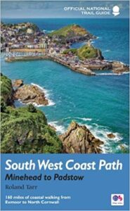 National Trail guide Minehead to Padstow with letsgowalking walking holidays