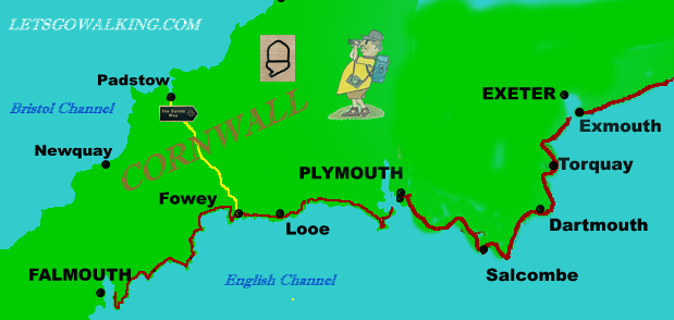 National trail guide3 Falmouth TO EXMOUTH letsgowalking