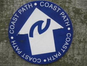 Northumberland Coast Path walking holidays letsgowalking sign