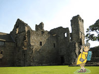 aberdour-castle fife coastal path letsgowalking walking iholidays in scotland