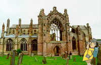 Melrose Abbey St Cuthberts Way walking holidays letsgowalking