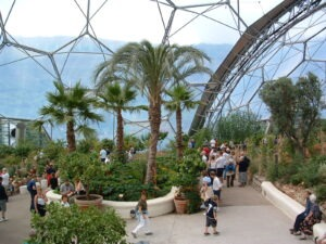 Eden Project walking holidays with letsgowalking.com