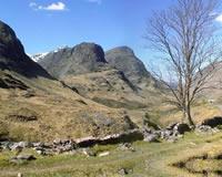 Scotish walking holidays Letsgowalking Glen Coe westt highland Way