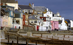Dorset walking holidays Lyne Regis with letsgowalking