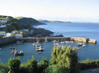 mevagissey south west Coast Path with Letsgowalking