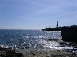 Portland Bill dorset walking holidays with Letsgowalking