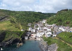 Portloe with Letsgowalking South west coast path