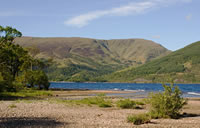 Loch Lomaond Scotland walking holiday west highland way Letsgowalking