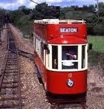 seaton tram with letsgowalking