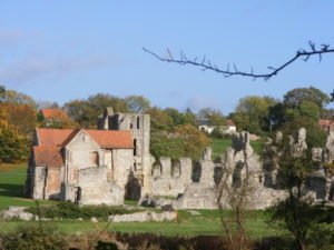 Castle Acre hiking holidays letsgowalking