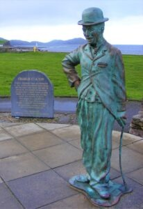 Charlie Chaplin waterville hiking holidays ireland letsgowalking.co.uk