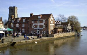 Warehan Quay Market square letsgowalking dorset walking holidays