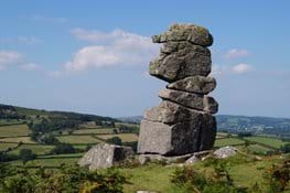 Dartmoor Way walking holiday in UK with Lets Go Walking