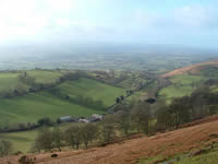 Offas Dyke Path walking holiday in Wales with Lets Go Walking