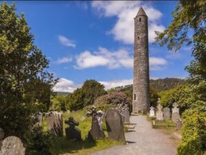 glendalough walking holidays in Ireland Letsgowalking.co.uk Wicklow way