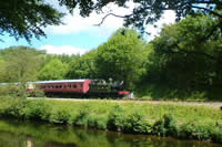 Dart Valley Trail walking holiday in Devon UK with Lets Go Walking