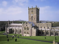 st_davids_cathedral walking holidays letsgowalking